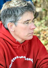 Valerie Meyer at Fair Hill, photo by Julie Keim