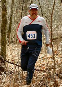 Jim Eagleton at Flying Pig Relay, photo by Greg Sack