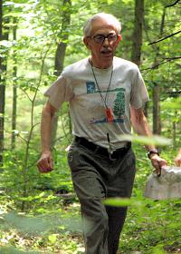 Kent Ringo finishing at Nolde, photo by Julie Keim