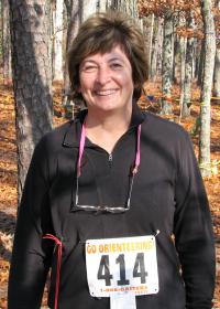 Kathy Urban at the Batona 500 A-Event, photo by Kathy Urban